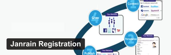 Janrain Registration plugin