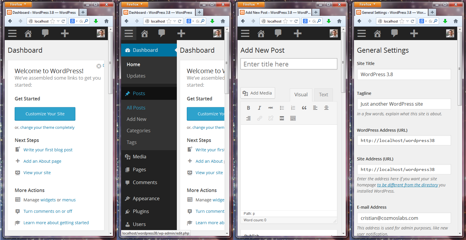WordPress 3.8 – The Best Redesign Since Ever?