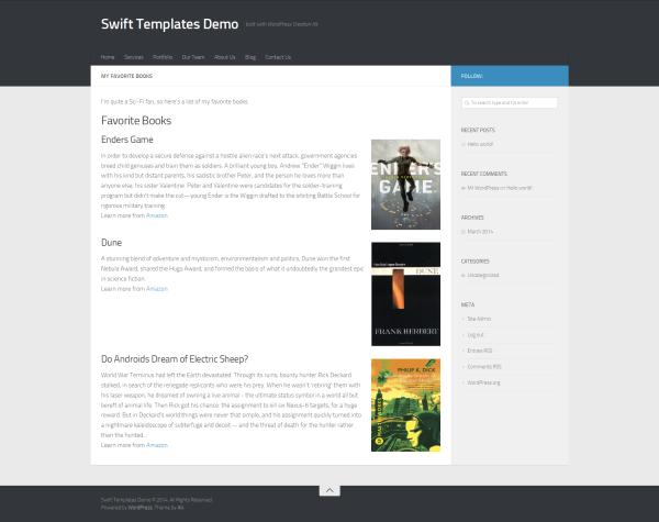 WordPress - Show Custom Fields in Page (frontend)