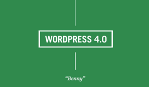 wordpress-4.0-benny