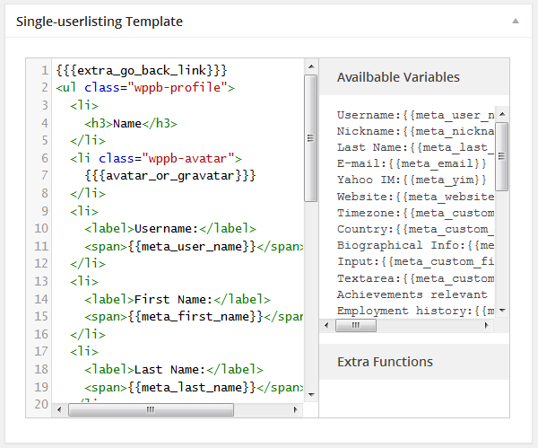 single-userlisting-template