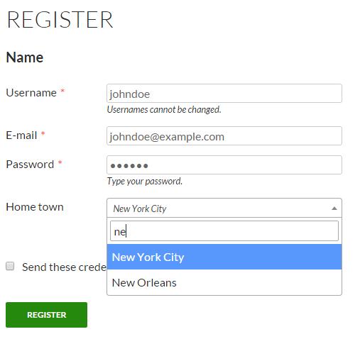 Register form 3