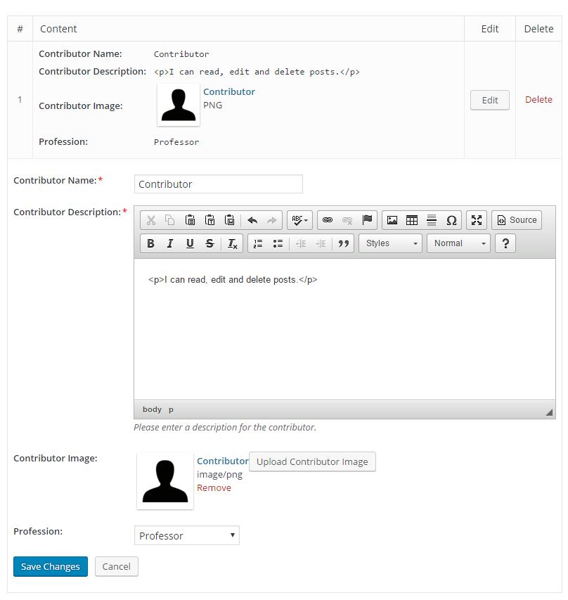 WCK - Custom Fields and Custom Post Types plugin - Cozmoslabs