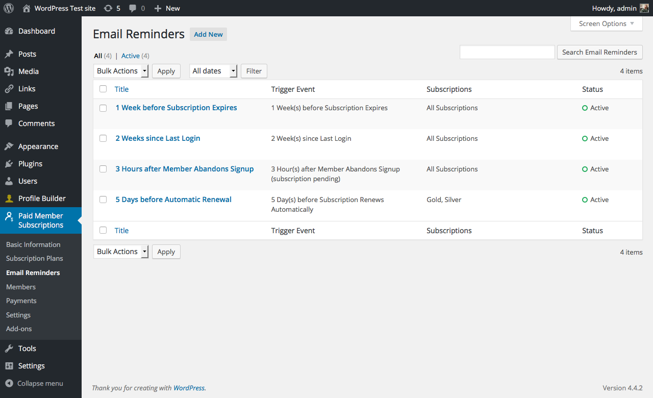 How To Set Up Effective Membership Email Reminders Cozmoslabs
