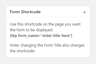 WordPress Creation Kit - Frontend Posting - Form Shortcode