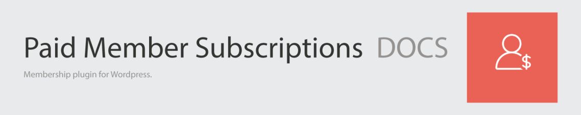 Paid Member Subscriptions Docs Logo