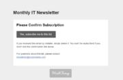 Profile Builder - MailChimp - Confirm Email Template