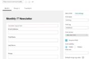 Profile Builder - MailChimp - Setting up the Singup Form