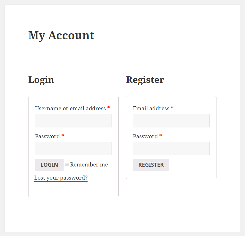 Profile Builder Pro - WooCommerce Sync - My Account Page