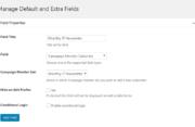 Profile Builder - Campaign Monitor - Subscribe Field
