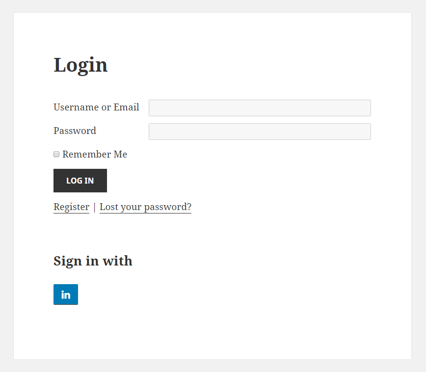 My Profile Register Login: How To Create A LinkedIn App For Social Connect