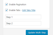 Profile Builder Pro - Multi-Step Forms - Pagination and Tabs