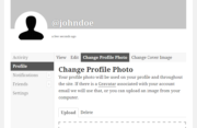 Profile Builder Pro - BuddyPress - Change Profile Photo