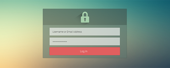custom login page templates cozmoslabs