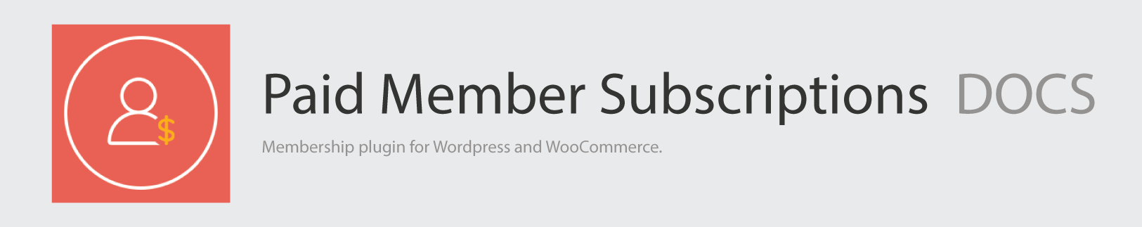 Paid Member Subscriptions Docs Logo v2