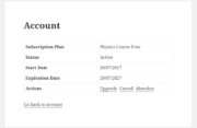 Paid Member Subscriptions Pro - Multiple Subscriptions Per User - Managing a Subscription Plan