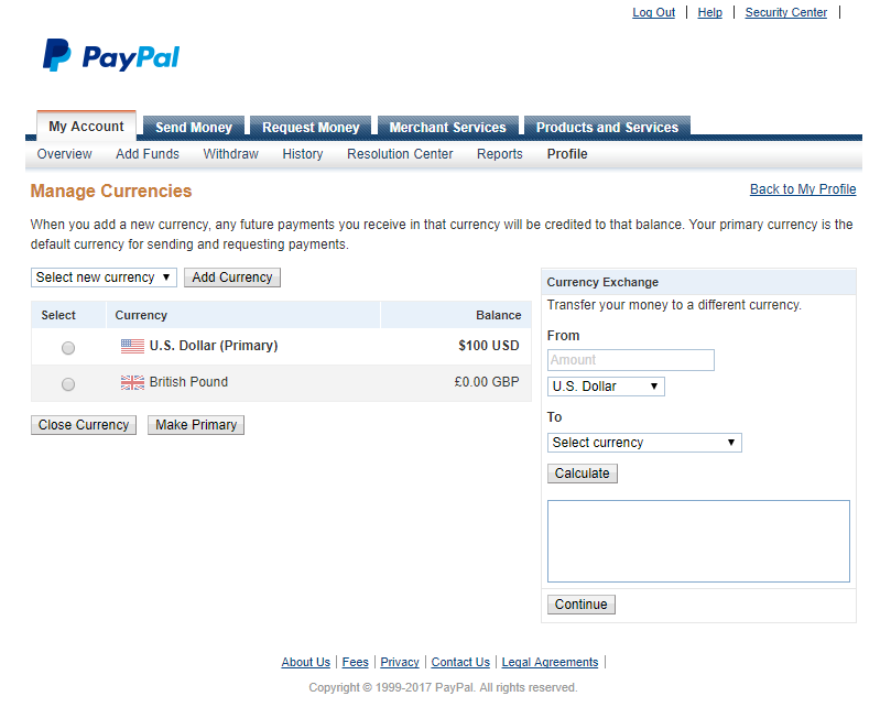 Paid Member Subscriptions Pro - PayPal Pro and PayPal Express Checkout - Add Currency