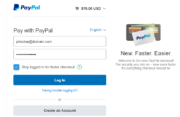 Paid Member Subscriptions Pro - PayPal Pro and PayPal Express Checkout - Registration PayPal Express Checkout Login