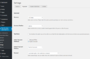 Paid Member Subscriptions Pro - Recurring Payments for PayPal Standard - Settings