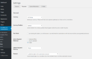 Paid Member Subscriptions Pro - Stripe - Settings