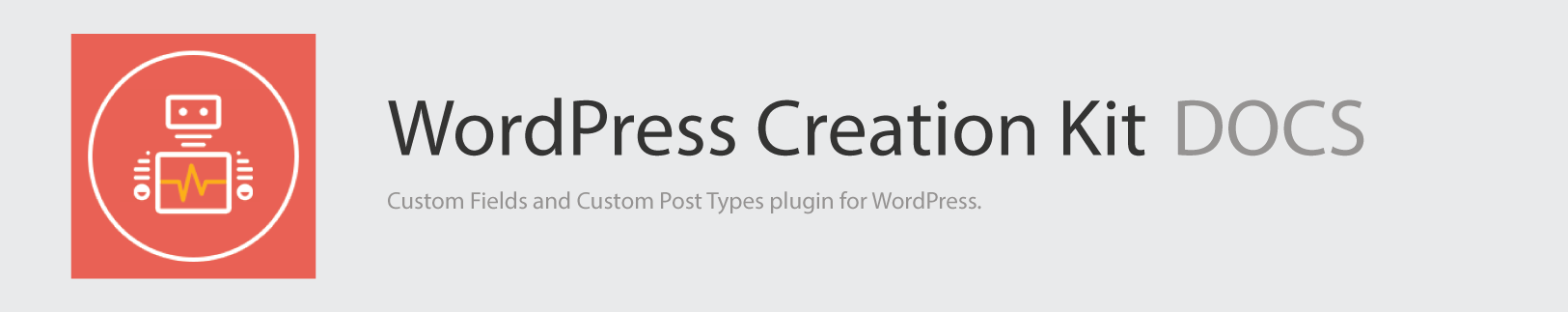 WordPress Creation Kit Docs Logo v2