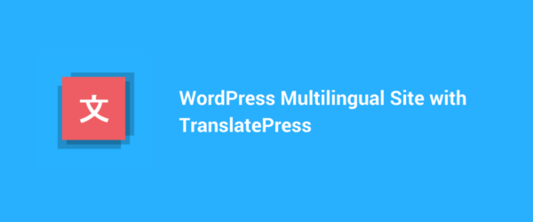 WordPress Multilingual Site