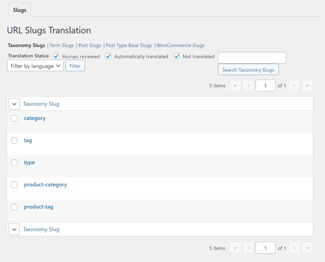 TranslatePress URL slug translation