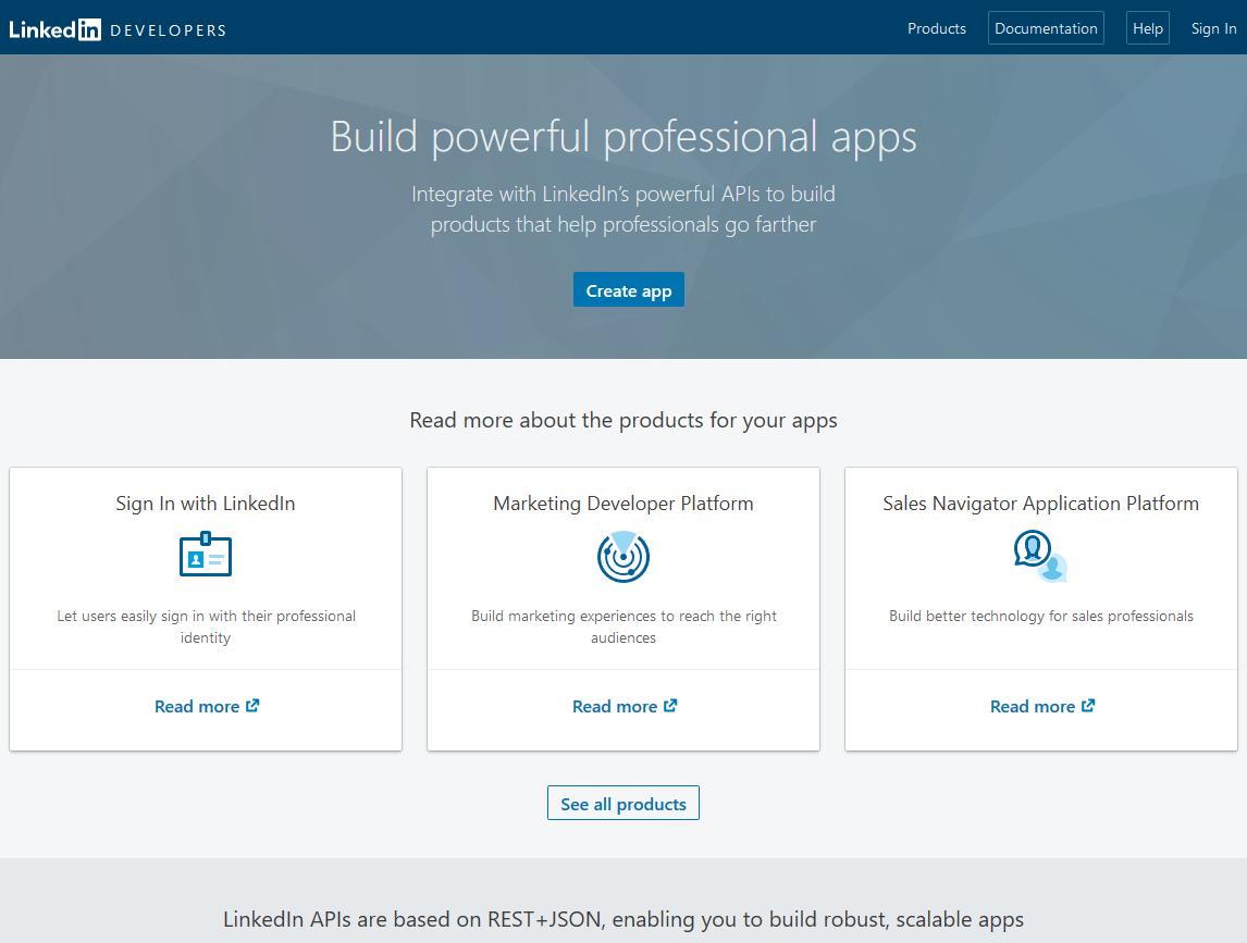 Profile Builder Pro - Social Connect - LinkedIn Developers