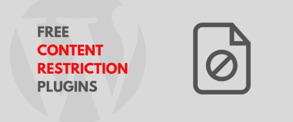Free Content Restriction Plugins for WordPress