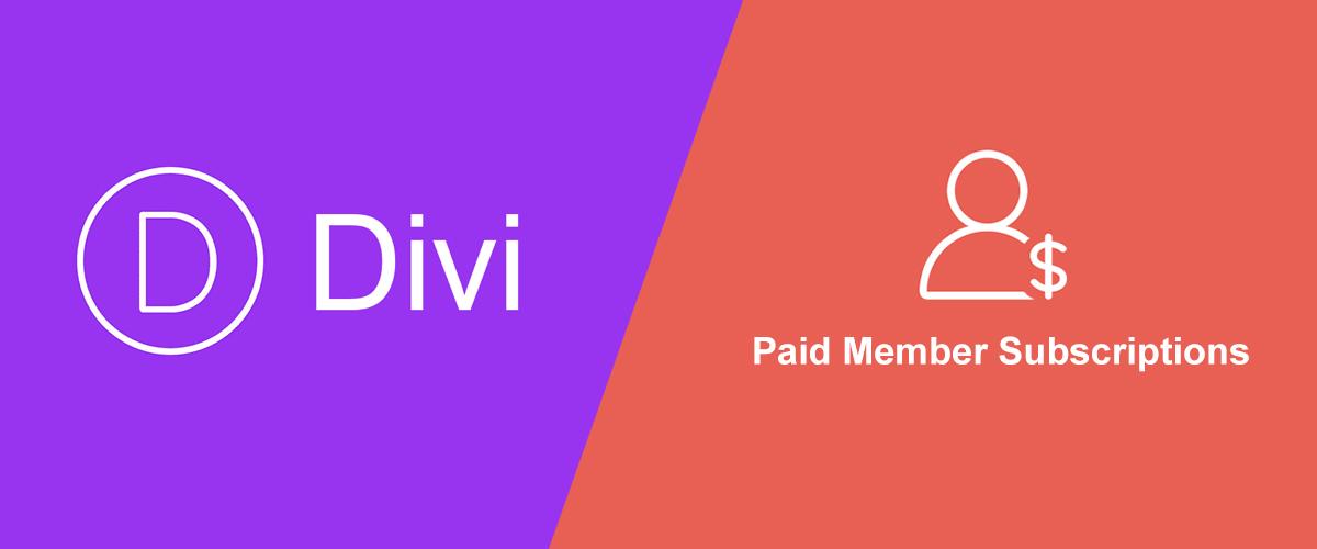 Create Divi Membership Site using Paid Member Subscriptions