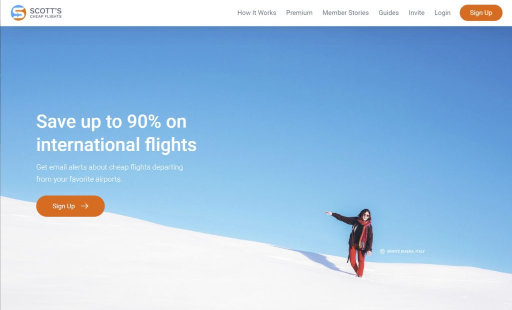 Scott's Cheap Flights is one of the membership websites for travelers