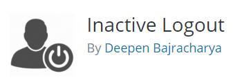 WordPress plugin - Inactive Logout