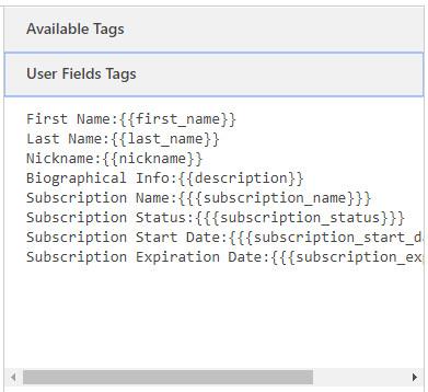 Customize WordPress emails using WordPress Profile Builder plugin email user field tags