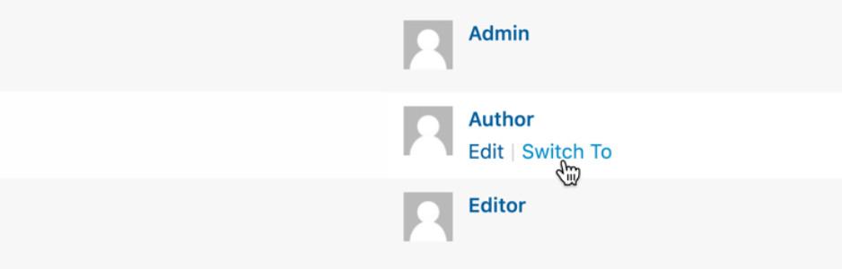 WordPress plugin - Author Switching