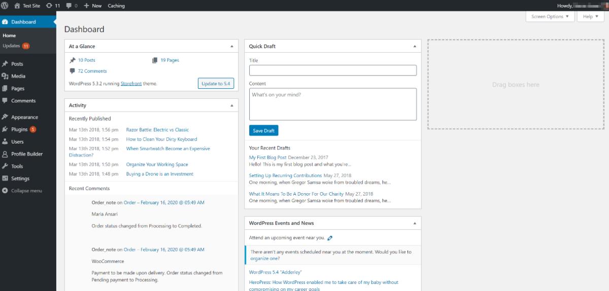 Admin user role