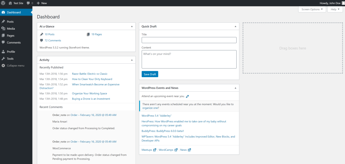Editor user role