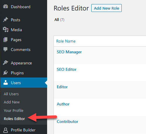 WordPress user permissions plugin