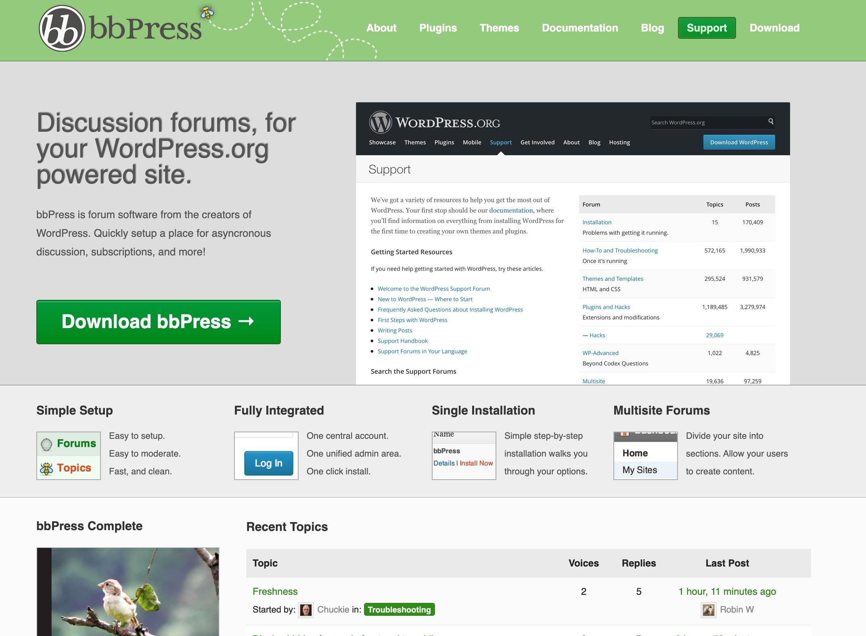 bbPress website