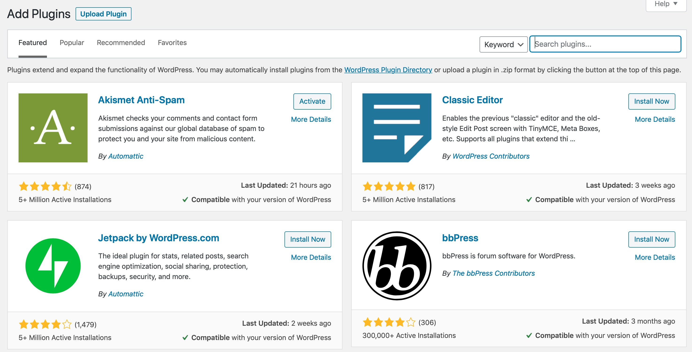 installing bbPress