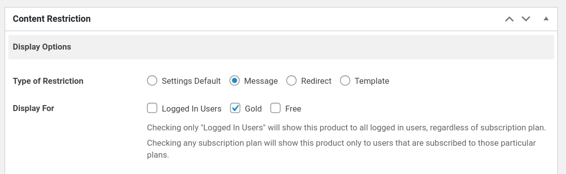 woocommerce product restriction