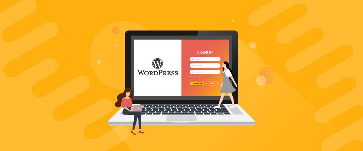 wordpress signup plugin