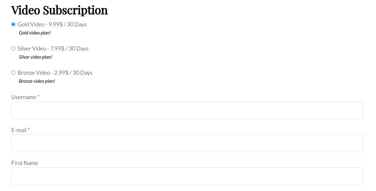 pms register shortcode custom