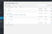 Subscription Plans in WordPress Membership Plugin