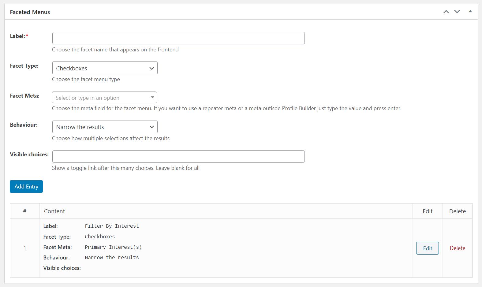 Create filters
