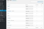 Roles Editor in WordPress Profile Builder