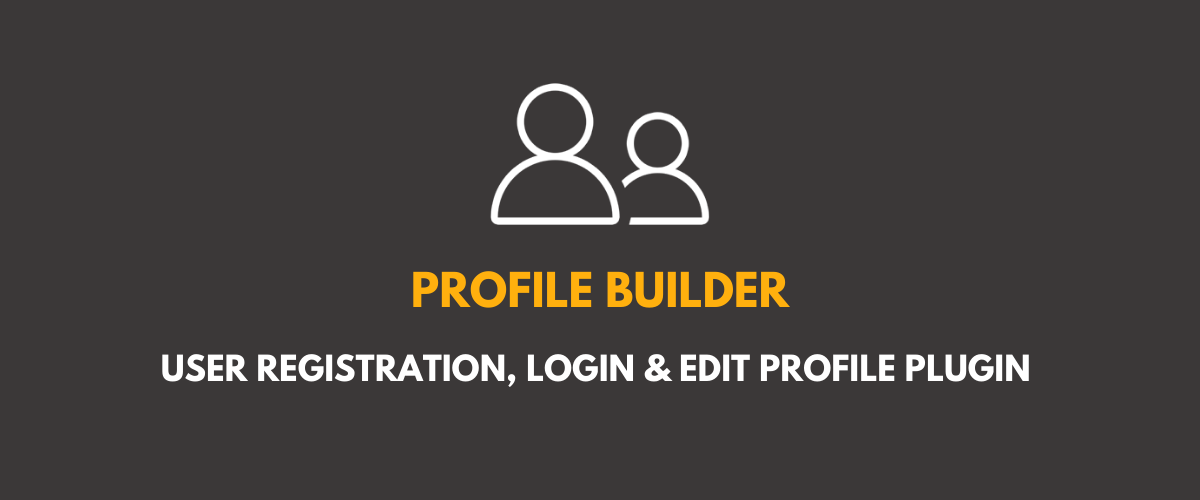 Profile Builder - frontend user registration, login and edit profile plugin