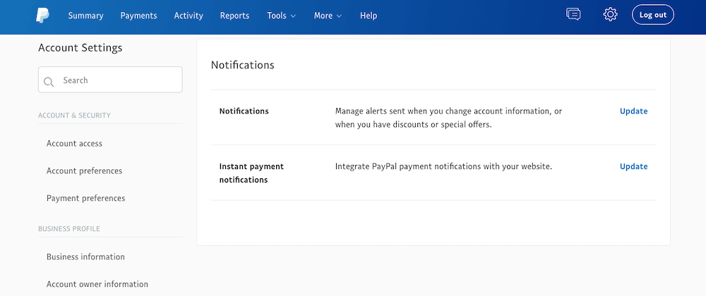 PayPal IPN Notifications