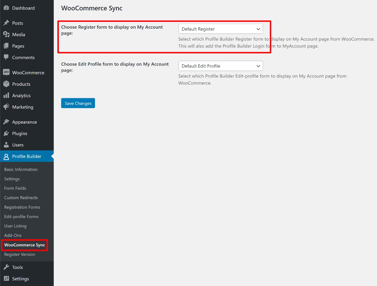 Add your custom registration form