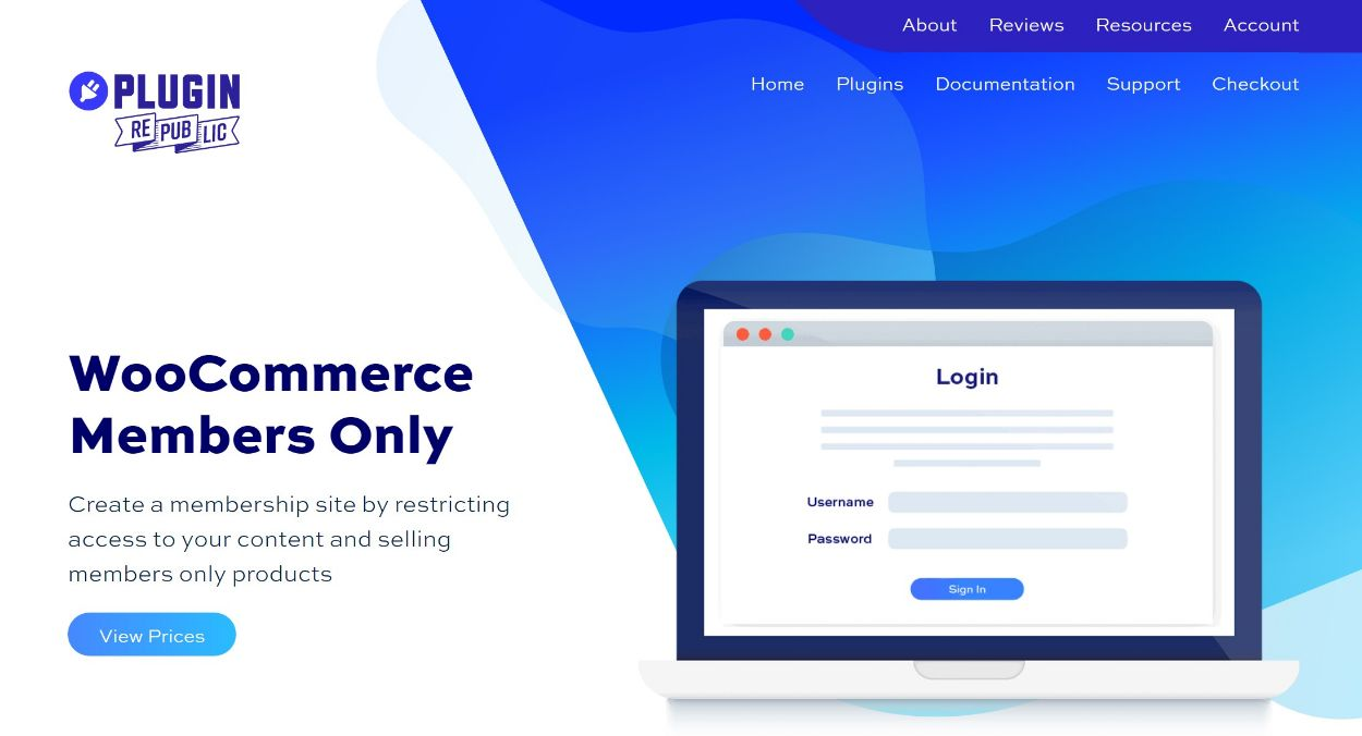 WooCommerce Members Only