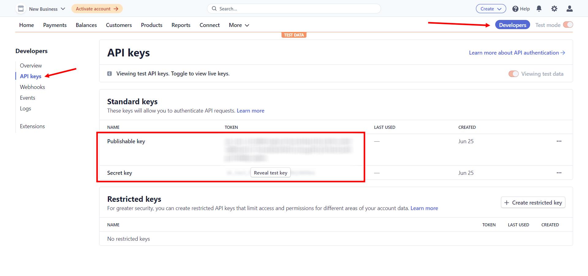 Retrieving WordPress Stripe Payment Credentials